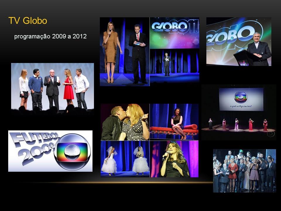 Tv Globo Programacao 2009 A 2012 Roque Assessoria Palestrantes E Eventos